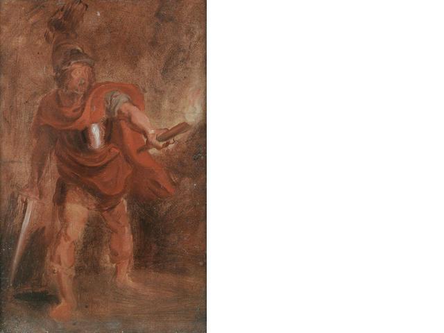 Studio of Sir Peter Paul Rubens (Siegen 1577-1640 Antwerp) Aeneas in the Underworld