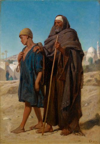 Frederick Goodall, RA (British, 1822-1904) The virtuous boy