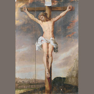After Sir Peter Paul Rubens, 18th Century The Crucifixion unframed