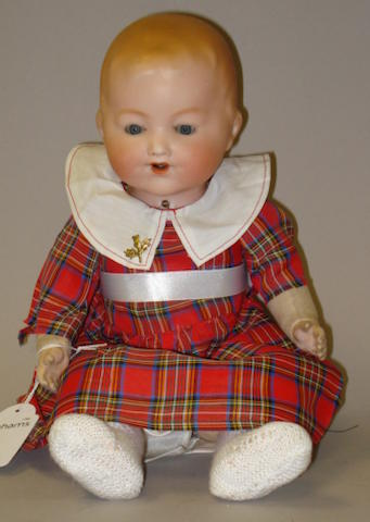 A.M 352 bisque head baby doll