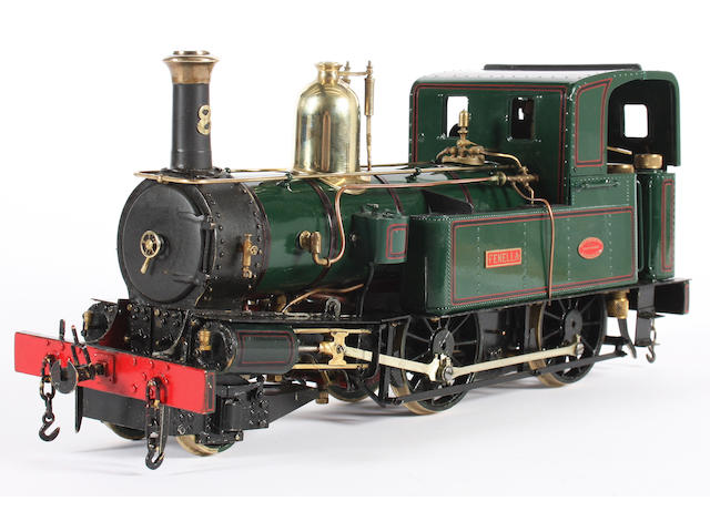 David Bailey scratch built gauge 1 finely detailed Isle of Man Railway locomotive Fenella No.8