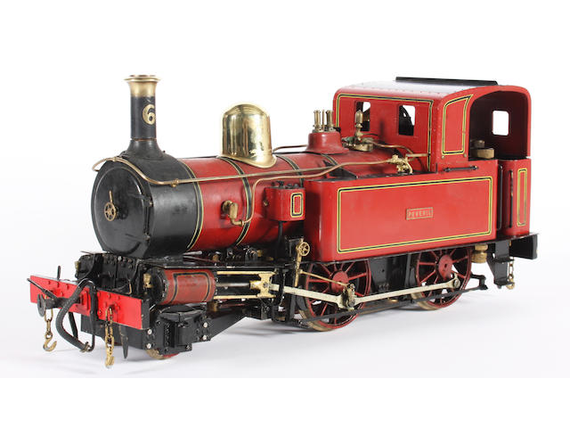 David Bailey scratch built gauge 1 finely detailed Isle of Man Railway locomotive Peveril No.6