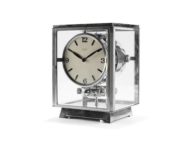 An early 20th century Reutter Atmos clock Atmos, Pendule Perpetuelle, Brevets J.L. Reutter S.G.D.G., number 1212