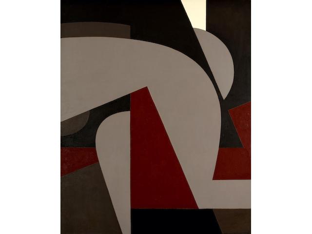 Yiannis Moralis (Greek, 1916-2009) Nude 162 x 130 cm.
