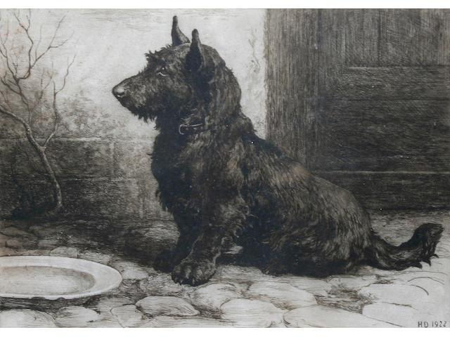 Herbert Thomas Dicksee, R.E. (British, 1862-1942) 'Forgotten',