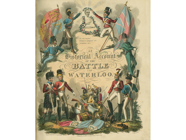 WATERLOO MUDFORD (WILLIAM) An Historical Account of the Campaign in the Netherlands, In 1815, under his Grace the Duke of Wellington, and Marshall Prince Blucher, Comprising the Battles of Ligny, Quatre Bras, and Waterloo