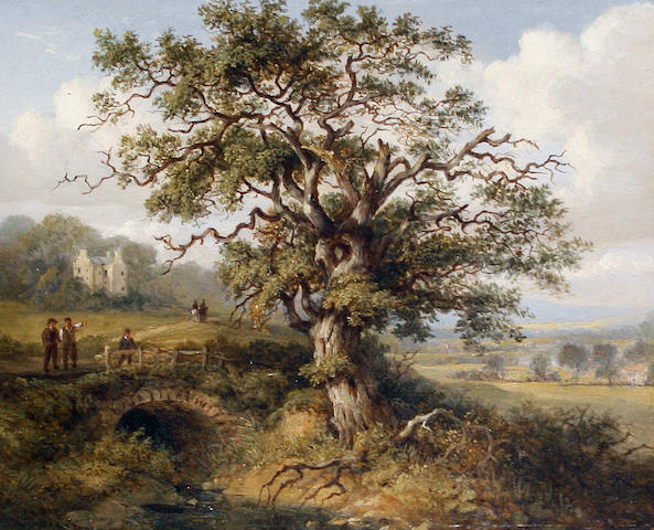 Jane Nasmyth (British, 1778-1867) Wallace Oak