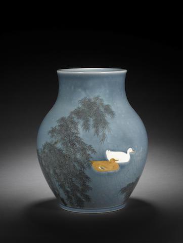 A porcelain vase Meiji/Taisho Period