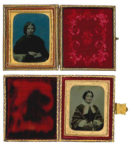 DAGUERROTYPES A collection of 11 daguerrotype portraits