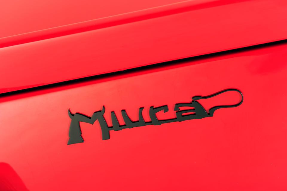1967 Lamborghini Miura P400 Coupé  Chassis no. 3300 Engine no. MZ782