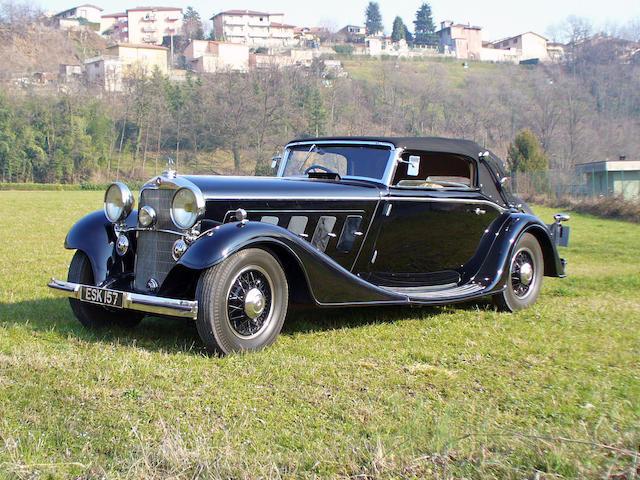 1934 Mercedes-Benz 500 Nürburg Cabriolet  Chassis no. M84785 Engine no. M84785