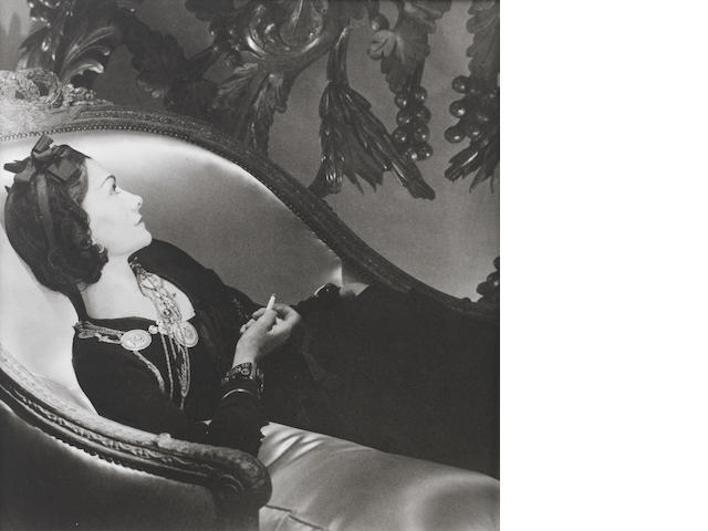Horst P. Horst (German/American, 1906-1999) Coco Chanel, Paris, 1937(11 x 14in).