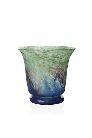 A Monart vase Shape NK