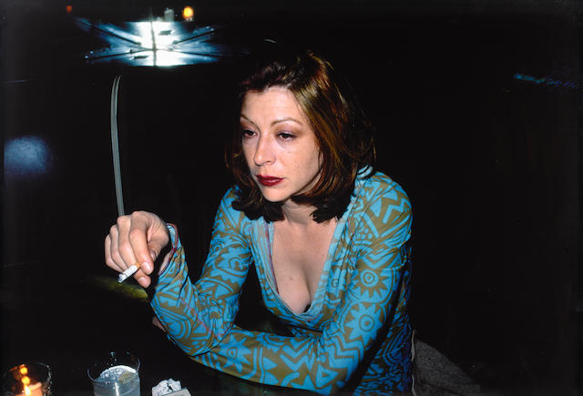 Nan Goldin (American, born 1953) Kathleen at the Bowery Bar, NYC, 1995