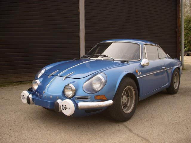 1972 Alpine A110 1600S Coupé  Chassis no. 17810 Engine no. 11319
