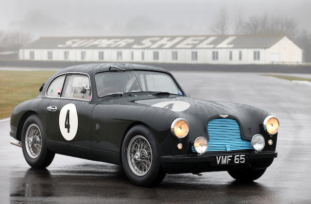 'VMF 65' The Ex-Works, Eric Thompson, Rob Walker, George Abecassis, Major Tony Rolt, Stirling Moss, Peter Collins,1950 Aston Martin DB2 Team Car  Chassis no. LML/50/9
