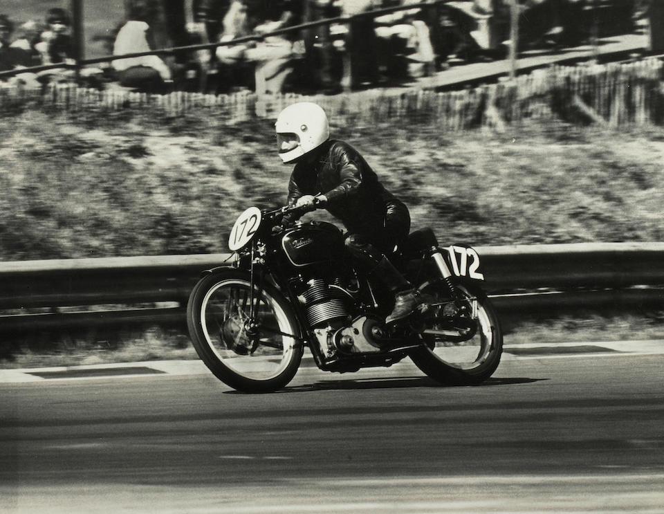 The ex-Ernie Thomas 1950 Velocette 348cc KTT MkVIII Racing Motorcycle Frame no. 264 SF Engine no. 1083