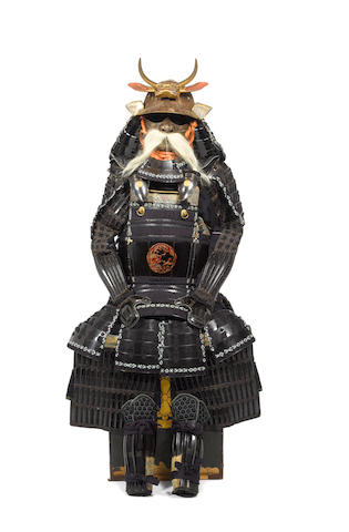 A ryo takahimo do tosei gusoku armour Mid Edo Period, 18th-19th century