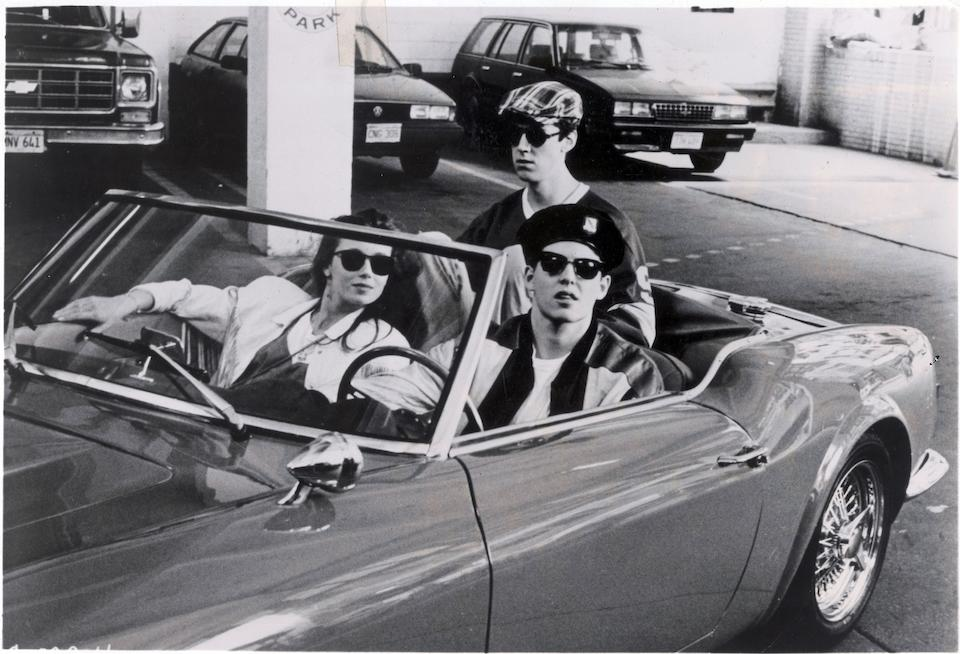 From the motion picture 'Ferris Bueller's Day Off',1985 Modena Spyder California  Chassis no. CA395186 Engine no. 395186