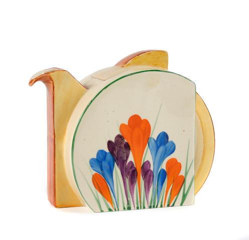 Clarice Cliff crocus pattern teapot