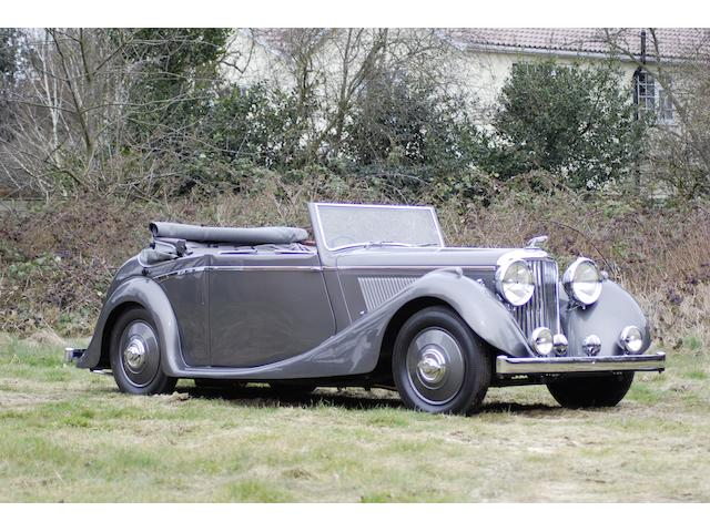 1938 SS Jaguar 2½-Litre Drophead Coupé  Chassis no. 46131 Engine no. L1211