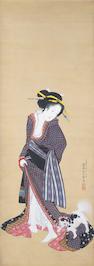 Kitagawa Fujimaro (1790-1850) Early/mid 19th century