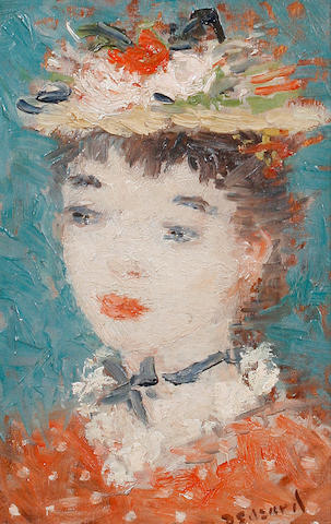 Dietz Edzard (German, 1893-1963) Portrait de jeune fille
