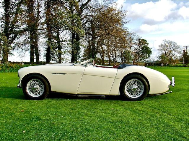 Left hand drive/Concours standard,1953 Austin-Healey 100 Roadster  Chassis no. BN1L-150288 Engine no. 1B/205245