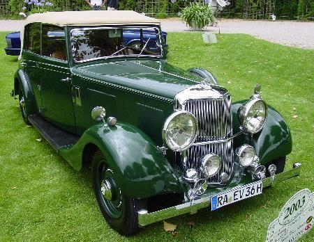 c.1937 Armstrong-Siddeley 20/25hp Drophead Coupé  Chassis no. to be advised Engine no. to be advised