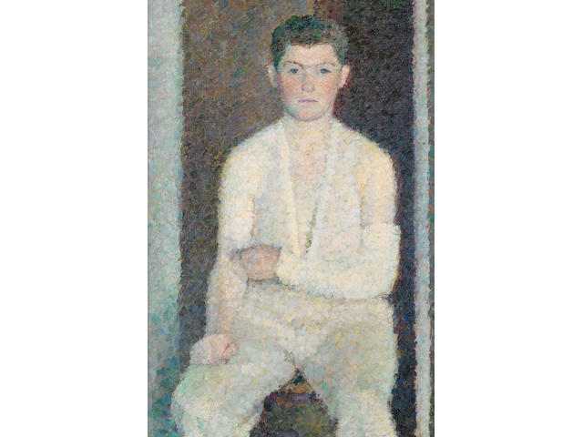 Vladimir Weisberg (Russian, born after 1924-died after 1985) Portrait of Alik Guinsburg