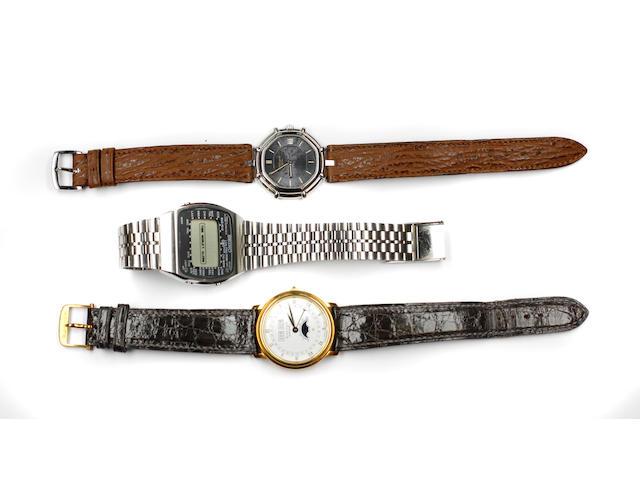 A gentleman's wristwatch,