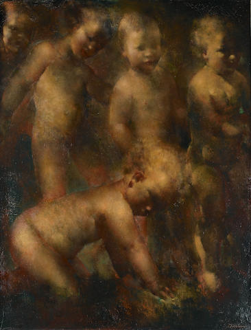 Grigory Gluckmann (Russian/American, 1898-1973) Etude decorative