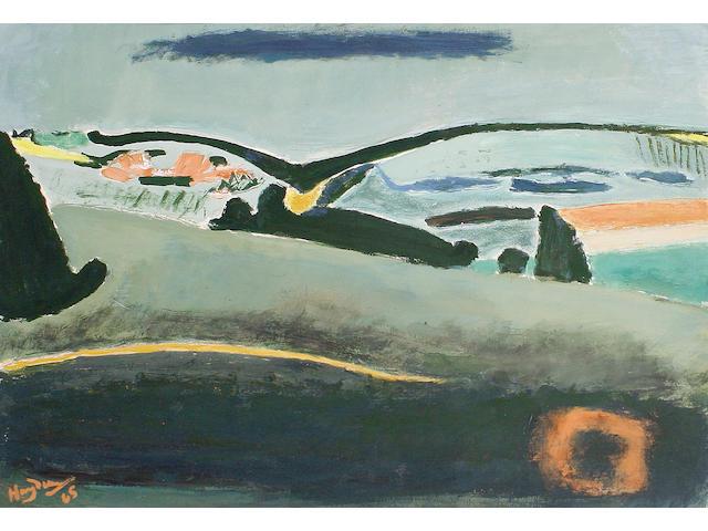 Henri Hayden (French, 1883-1970) 'Paysage Vert'