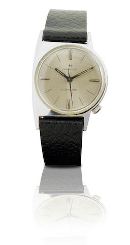 Hamilton. A vintage automatic stainless steel wristwatch Circa 1960s