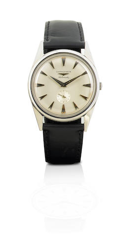 Longines.  A fine stainless steel automatic wristwatchRef: 2309-19AS, Case No. 3979056, Circa 1960s
