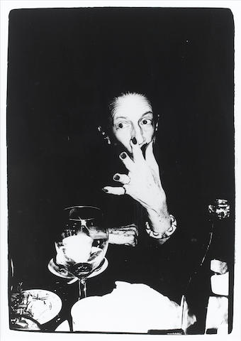 Andy Warhol (American, 1928-1987) Diana Vreeland, 1970s