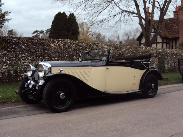 1934 Bentley 3½-Litre Drophead Coupé  Chassis no. B85AE