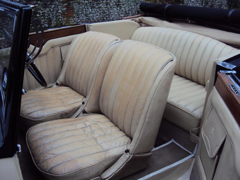 1934 Bentley 3½-Litre Drophead Coupé  Chassis no. B85AE
