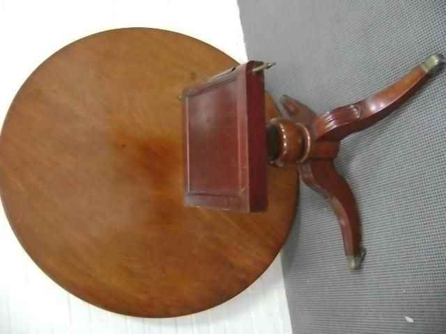 A William IV mahogany breakfast table,