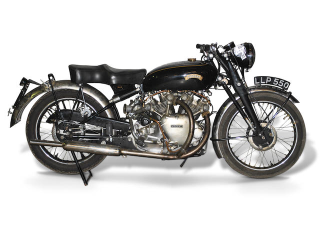 1950 Vincent 998cc Series-C Rapide Frame no. RC6947 Engine no. F10AB/1/5047