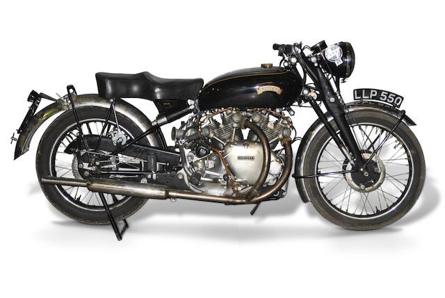 1950 Vincent 998cc Series-C Rapide Frame no. RC6947 Engine no. F10AB/1/5047