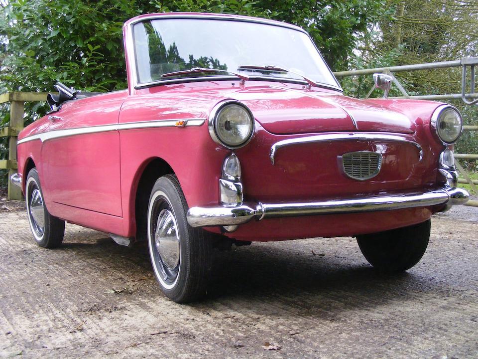1960 Autobianchi Bianchina Eden Roc Cabriolet  Chassis no. 000501