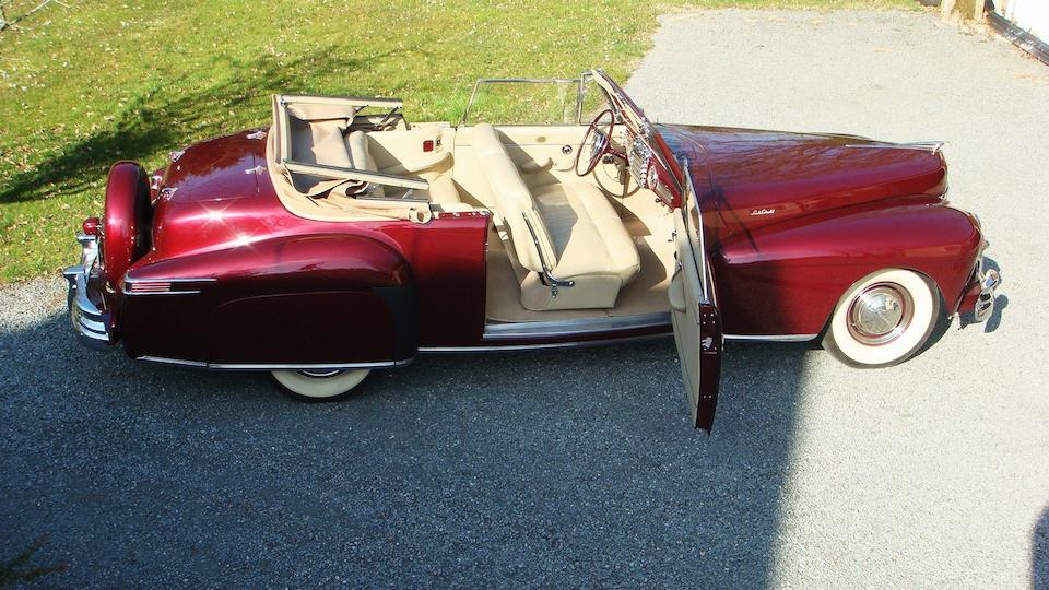 1946 Lincoln Continental V12 Convertible  Chassis no. 5EH56311
