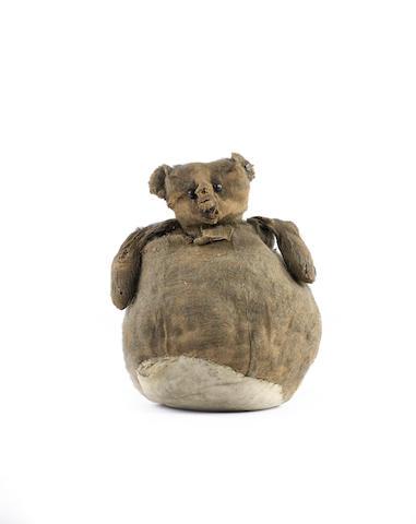 Rare Steiff 'Roly Poly' bear, circa 1909