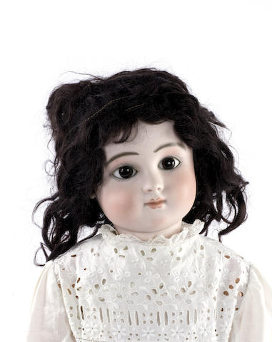 Beautiful Steiner C bisque head Bebe, circa 1880