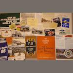 A file of Le Mans 24 hour race related ephemera,