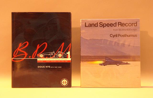 Two books relating to motor sport,