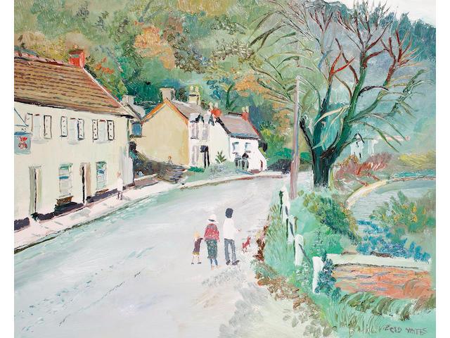 Fred Yates (British, 1922-2008) Tintern Village