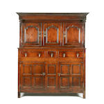 A mid 18th Century oak didarn, Welsh