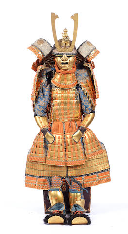 A Japanese haramaki-style suit of armor 20th century
